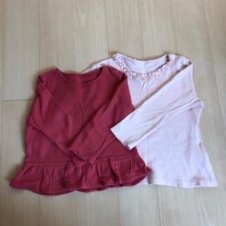 ユニクロ(UNIQLO)のUNIQLO ロンTセット 90cm(Tシャツ/カットソー)