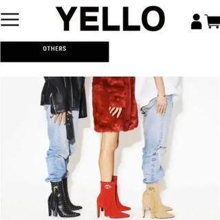 Yellow boots - 日曜日迄の値下げ! 箱無し発送★ Web発売終了してます XLサイズ