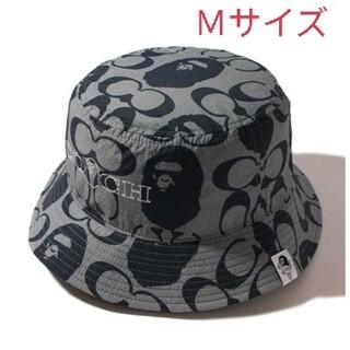 COACH - BAPE × COACH バケットハット Mサイズ
