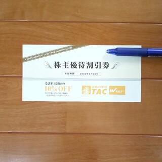 TAC 株主優待券(その他)