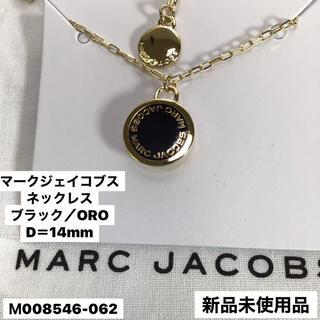 MARC JACOBS - 新品 マークジェイコブス ♦︎  コインネックレス black/ORO