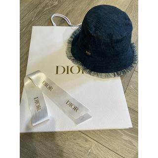 クリスチャンディオール(Christian Dior)のchristian dior デニムハット 2020(ハット)