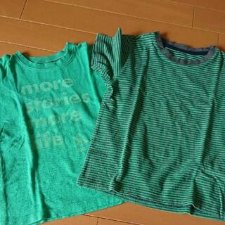 ユニクロ(UNIQLO)の【中古】男の子 Tシャツ 2枚セット(Tシャツ/カットソー)