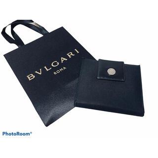 BVLGARI - ☆BVLGARI☆  二つ折り財布 ブラック