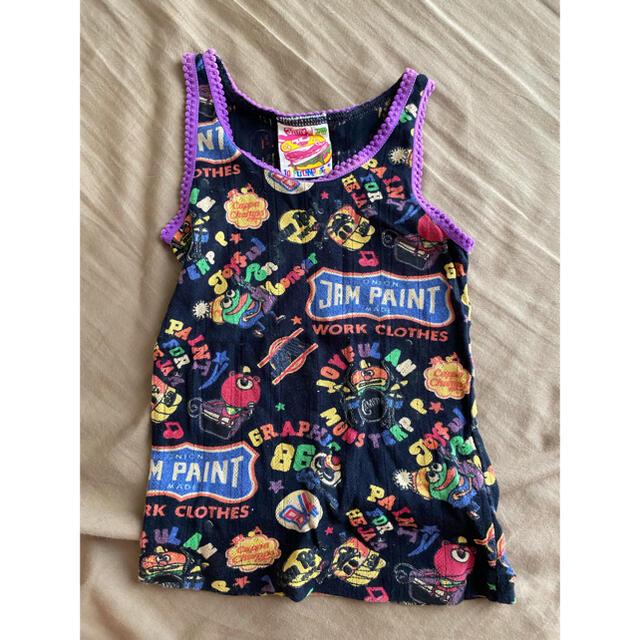 JAM(ジャム)のタンクトップ キッズ/ベビー/マタニティのキッズ服女の子用(90cm~)(Tシャツ/カットソー)の商品写真