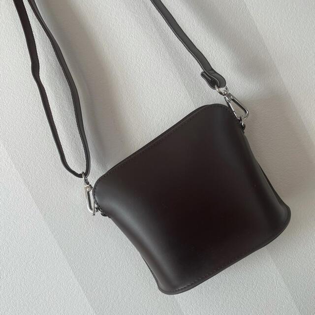 UNIQLO(ユニクロ)のレザータッチミニショルダーバッグ メンズのバッグ(ショルダーバッグ)の商品写真