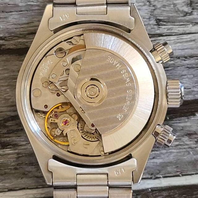 ROLEX(ロレックス)のビンテージ6263カスタム スイスバルジュー7750 ムーブ状態完璧! メンズの時計(腕時計(アナログ))の商品写真