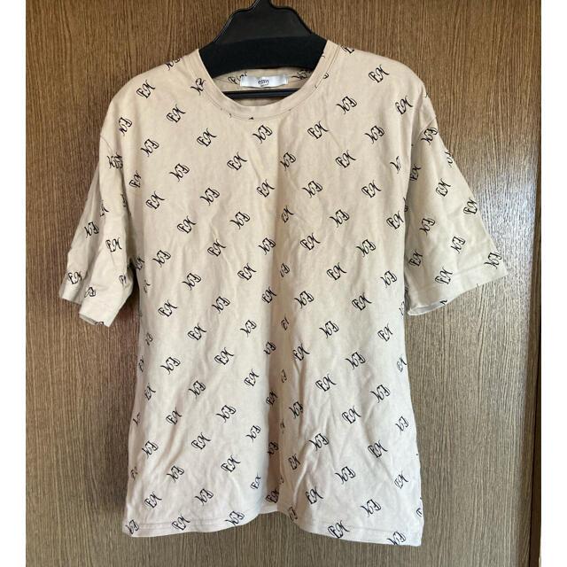eimy istoire(エイミーイストワール)のeimy istoire ロゴTシャツ レディースのトップス(Tシャツ(半袖/袖なし))の商品写真