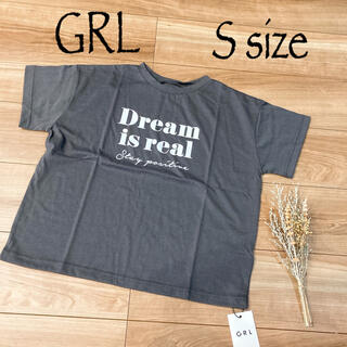 グレイル(GRL)の【新品タグ付き】GRL   ロゴTシャツ S size(Tシャツ(半袖/袖なし))