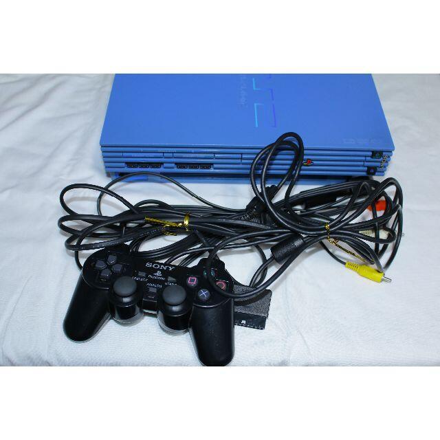 PlayStation2(プレイステーション2)のps2 scph39000 本体セット 【動作品】 エンタメ/ホビーのゲームソフト/ゲーム機本体(家庭用ゲーム機本体)の商品写真