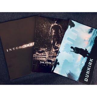 クリストファー・ノーラン作品パンフレット3種(印刷物)