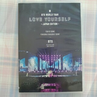 BTS WORLD TOUR LOVE YOURSELF JAPAN DVD(ミュージック)