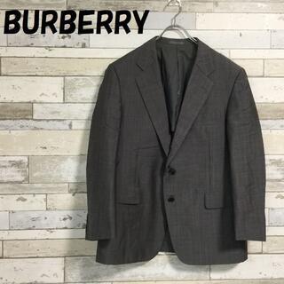 バーバリー(BURBERRY)の【人気】バーバリー テーラードジャケット ストライプ柄 グレー(テーラードジャケット)