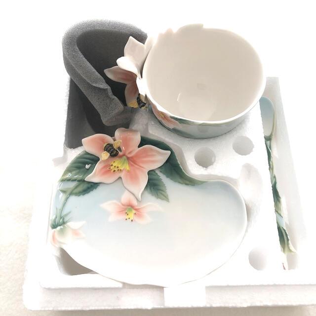 未使用♡FRANZ ビーカップ&ソーサーセット インテリア/住まい/日用品のキッチン/食器(食器)の商品写真