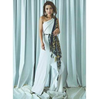 エイミーイストワール(eimy istoire)のスカーフデザインオールインワン(オールインワン)