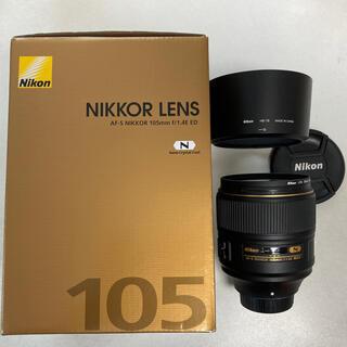 Nikon - Nikon AF-S NIKKOR 105mm f1.4E ED Fマウント