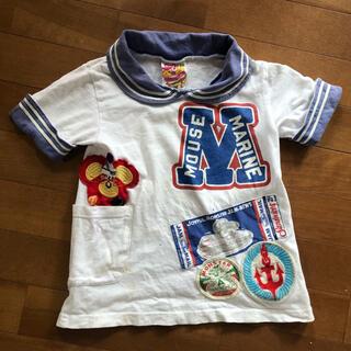 ジャム(JAM)のJAM セーラーTシャツ ジャム 110cm(Tシャツ/カットソー)