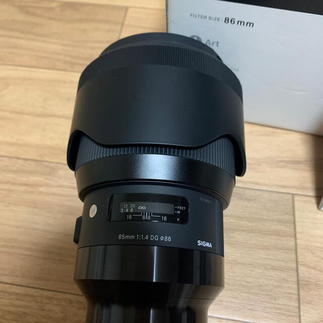 SIGMA(シグマ)のShazam様専用SIGMA 85mm f1.4 スマホ/家電/カメラのカメラ(レンズ(単焦点))の商品写真