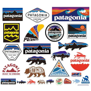 パタゴニア(patagonia)のパタゴニア patagonia 計26枚 ロゴ ステッカー (しおり/ステッカー)