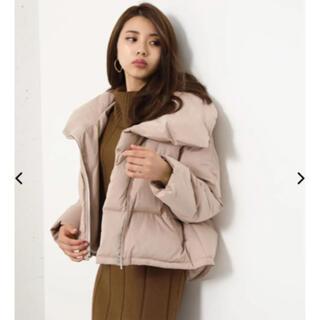 リエンダ(rienda)のrienda volume back tail short down coat(ダウンジャケット)