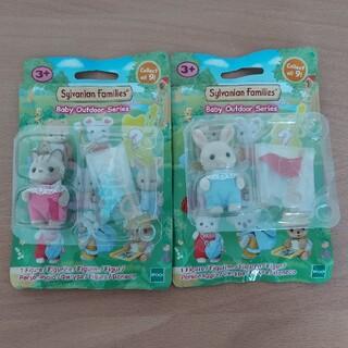 エポック(EPOCH)のシルバニア 海外版 赤ちゃんコレクション 赤ちゃん探検シリーズ(ぬいぐるみ/人形)