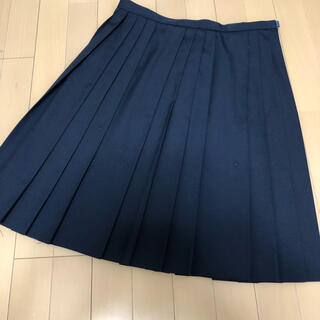 ELLE - ELLE★夏用スカート★紺色