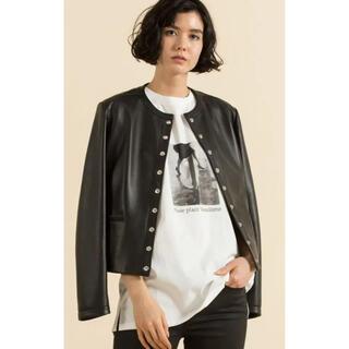 23区 - 23区 【洗える】MONOCHROME PHOTOPRINT Tシャツ