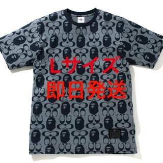 コーチ(COACH)のCoach x BAPE コラボ Tシャツ Lサイズ(Tシャツ/カットソー(半袖/袖なし))