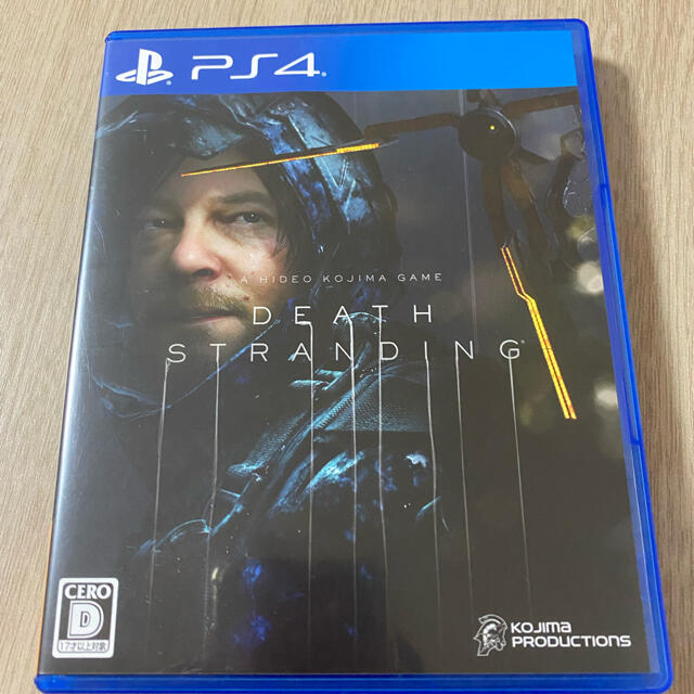 PlayStation4(プレイステーション4)のps4 DEATH STRANDING エンタメ/ホビーのゲームソフト/ゲーム機本体(家庭用ゲームソフト)の商品写真