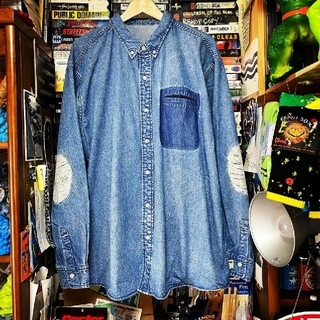 BEAMS - Sサイズ BEAMS SSZ 裏USED デニムシャツ
