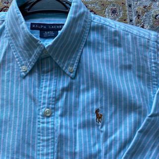 ラルフローレン(Ralph Lauren)のラルフローレン ストライプ ブルーシャツ(シャツ/ブラウス(長袖/七分))
