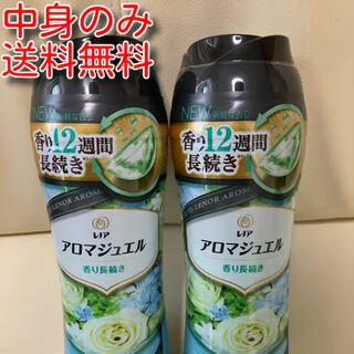 ピーアンドジー(P&G)のレノアハピネス アロマジュエル パステルフローラル&ブロッサムの香り 2本分(洗剤/柔軟剤)