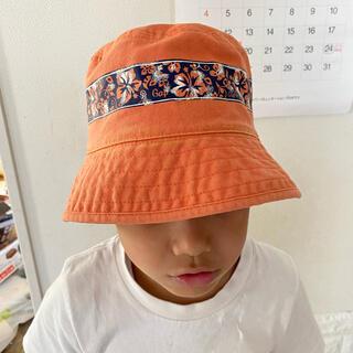 ギャップキッズ(GAP Kids)のキッズ 帽子 オレンジ GAP(帽子)