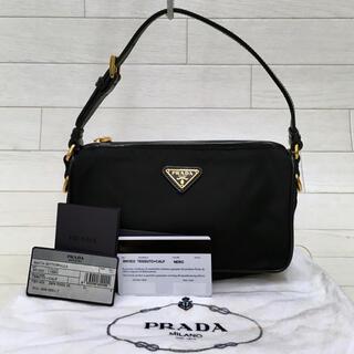 PRADA - ☆美品・ギャランティ付☆プラダPRADA TESSUTO+CALF ハンドバッグ