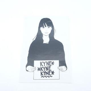 KYNE GIRL STICKER キネ ガール ステッカー シール