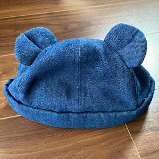 マーキーズ(MARKEY'S)のデニムくま耳帽子(帽子)