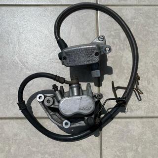 ホンダ(ホンダ)のスティード400 フロントブレーキ マスターシリンダー ブレーキキャリパー(パーツ)
