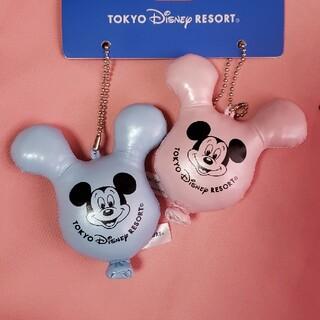 ディズニー(Disney)のバルーンモチーフ ぬいぐるみバッチ&キーホルダー(キーホルダー)