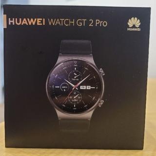 ファーウェイ(HUAWEI)の【美品/国内正規品】Huawei Watch  GT 2 Pro(腕時計(デジタル))