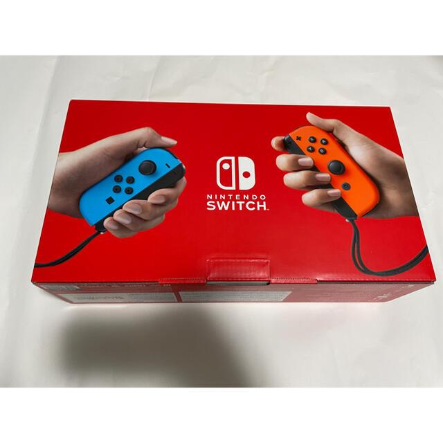 Nintendo Switch(ニンテンドースイッチ)のSwitch 任天堂 スイッチ 本体 ネオン ニンテンドウ  エンタメ/ホビーのゲームソフト/ゲーム機本体(家庭用ゲーム機本体)の商品写真
