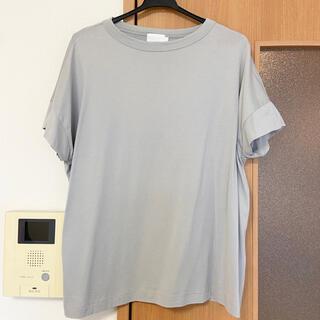 UNITED ARROWS - ハンドバーク handvaerk 半袖 Tシャツ  ライトグレー系
