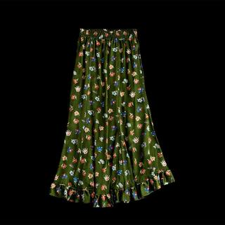 Shinzone - シンゾーン フラワープリント スカート