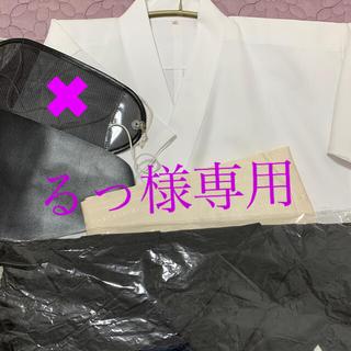 弓道着 上着、袴、博多帯、胸当 女性 美品