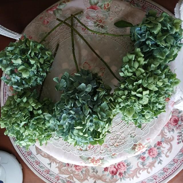 紫陽花・ミントブルー系 5 ハンドメイドのフラワー/ガーデン(ドライフラワー)の商品写真