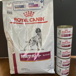 ロイヤルカナン(ROYAL CANIN)のan様専用ロイヤルカナン腎臓サポートセレクション3kg腎臓サポート200g×5缶(犬)