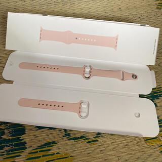 Apple Watch - Apple Watch 40mmスポーツバンド ピンクサンド