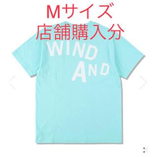 シー(SEA)のWIND AND SEA Tシャツ Mサイズ ミント グリーン エメラルド(Tシャツ/カットソー(半袖/袖なし))
