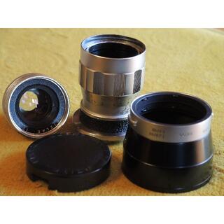 ライカ(LEICA)のLeica elmar 90mm F4 トリプレット3枚玉 美品!(レンズ(単焦点))