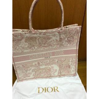 ディオール(Dior)のDIOR トートバッグ ハンド ピンク(トートバッグ)