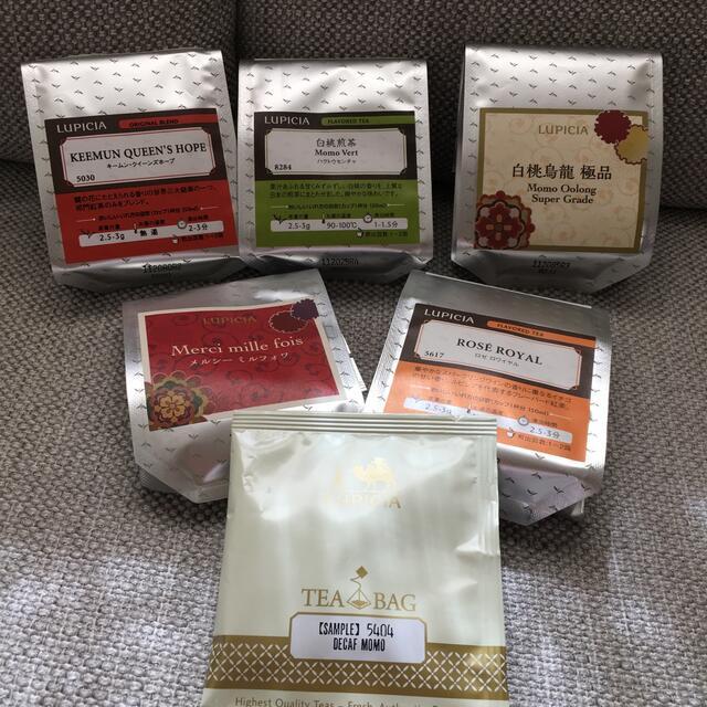 LUPICIA(ルピシア)のルピシア リーフセット 食品/飲料/酒の飲料(茶)の商品写真